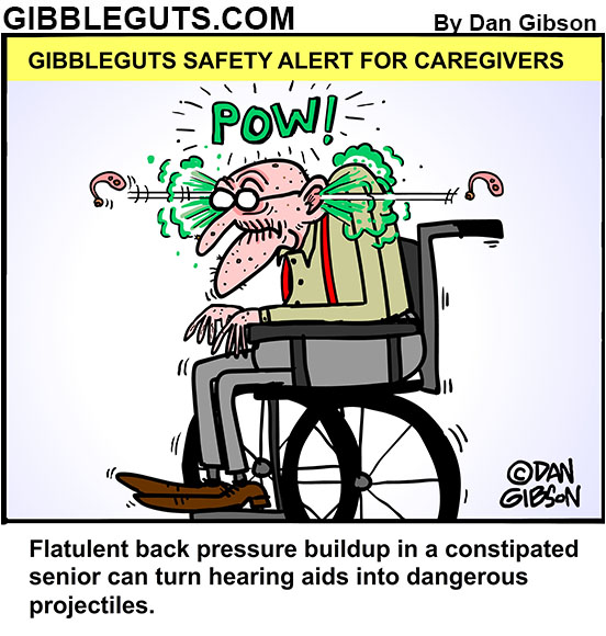hearing aid cartoons