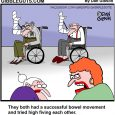 getting old cartoon