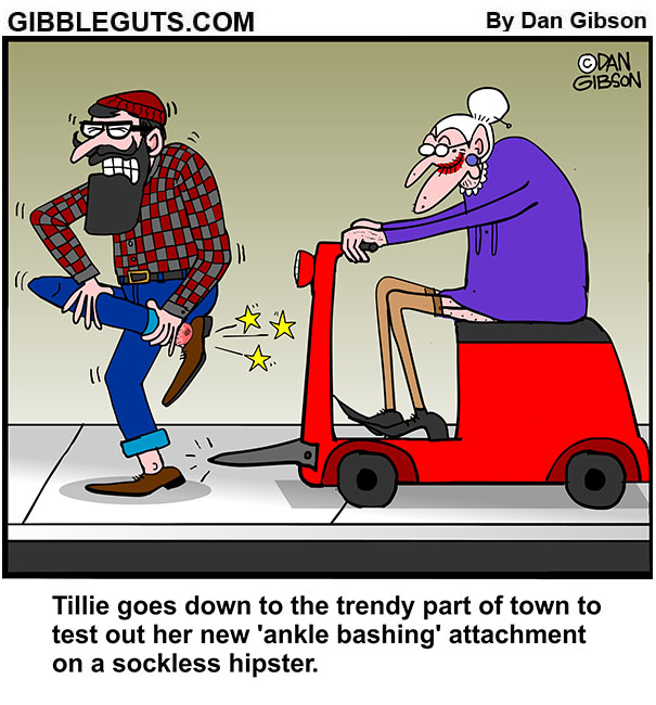 hipster bash cartoon