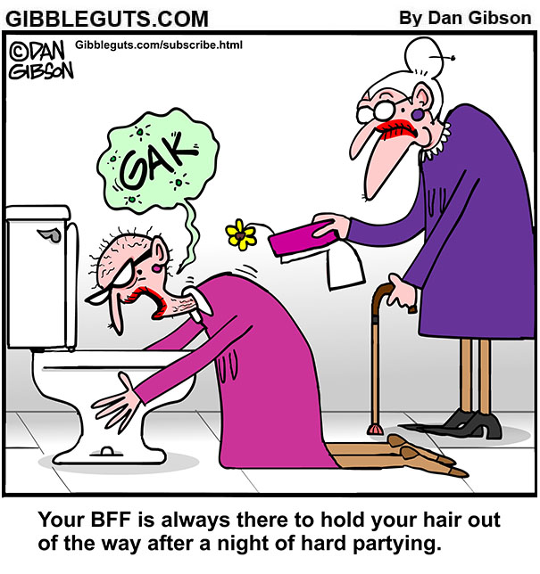 BFF holds your hair