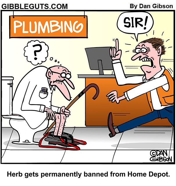 banned from home depot