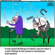 horseshoes cartoon