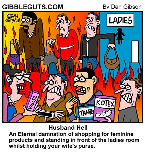 husband hell cartoon