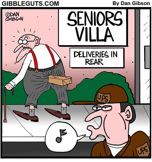 UPS cartoon
