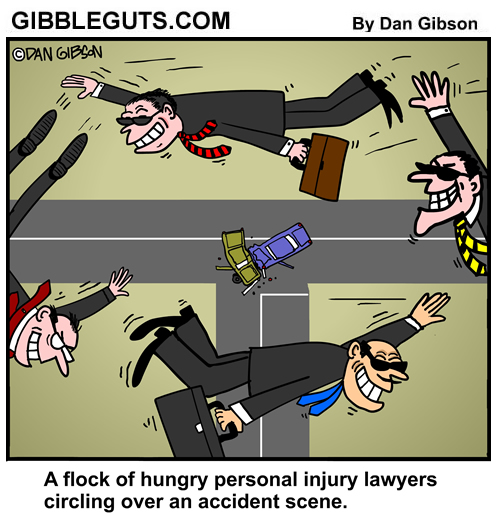 injury lawyers cartoon