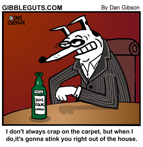 most interesting dog cartoon
