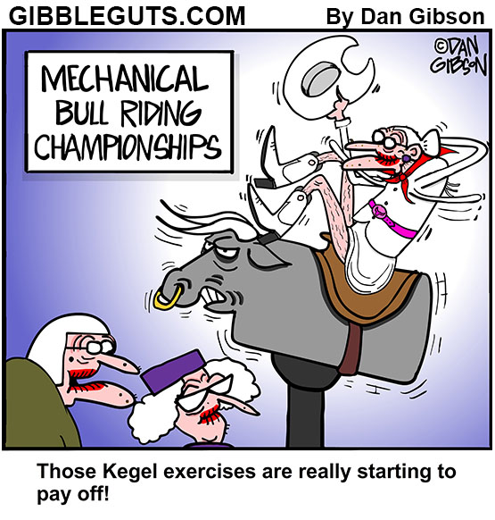 kegel cartoon