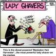 lady shaver cartoon