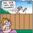 lawn dart cartoon