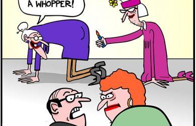 lighting farts cartoon
