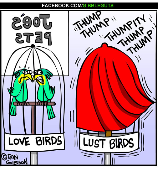 love or lust cartoon