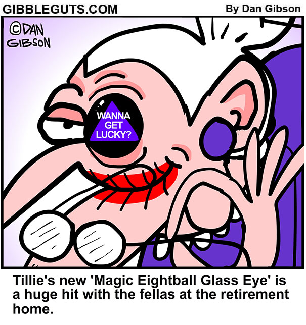 magic eight ball  cartoon