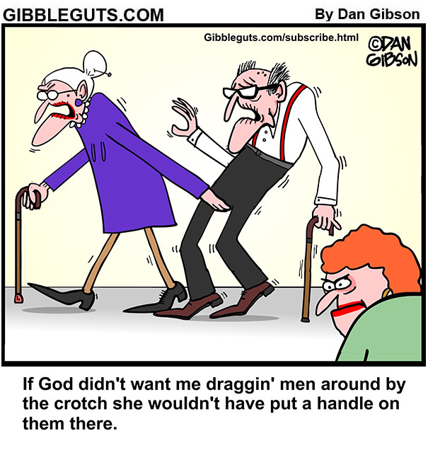 man handle cartoon