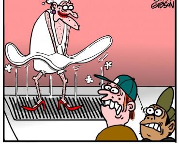 marilyn munroe cartoon
