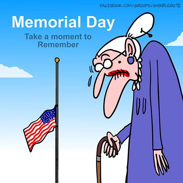 memorial Day Cartoon