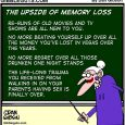 memory loss cartoon