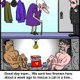 firemen cartoon