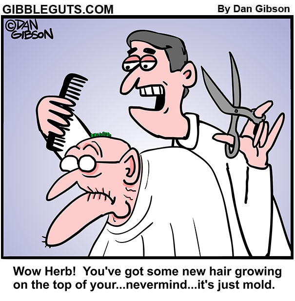 herb barber visit cartoon