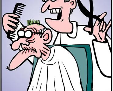 mold hair cartoon