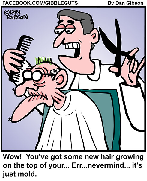 mold hair cartoon