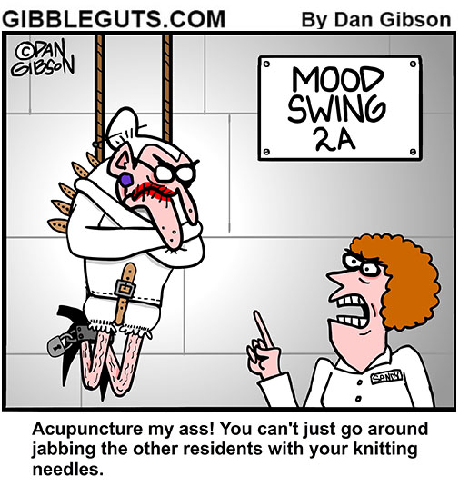 mood swing cartoon