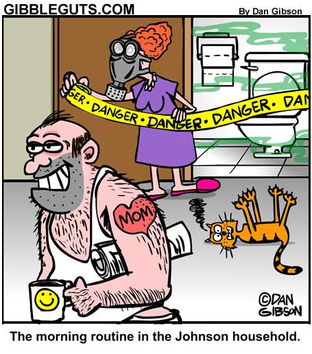 Morning Routine Cartoon