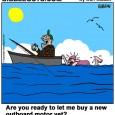 fishing Outboard motor cartoon