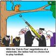cat in tree cartoon