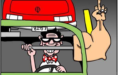 tailgater cartoon