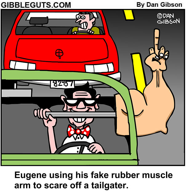 tailgater cartoon