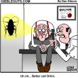 roach problem cartoon