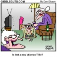 old ladies cartoon
