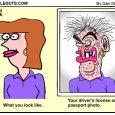passport photo cartoon