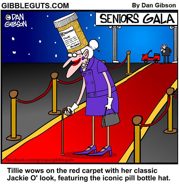 Tillie Rocks The Red Carpet