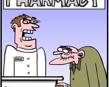 pharmacy cartoon