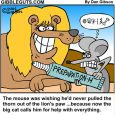 lion and the mouse cartoon