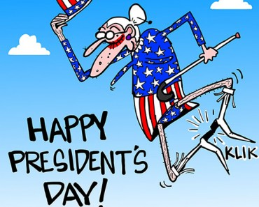 presidents day cartoon
