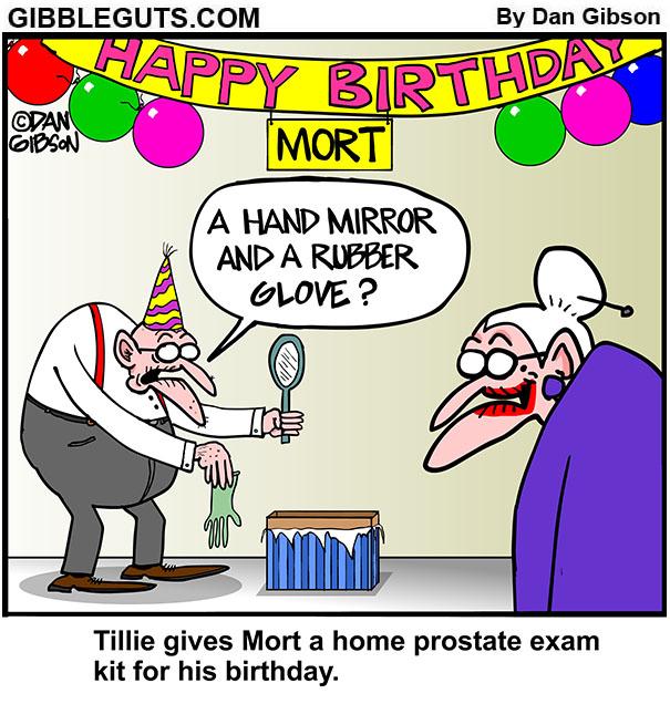 Tillies Birthday Gift Cartoon