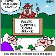 corns and bunyons cartoon