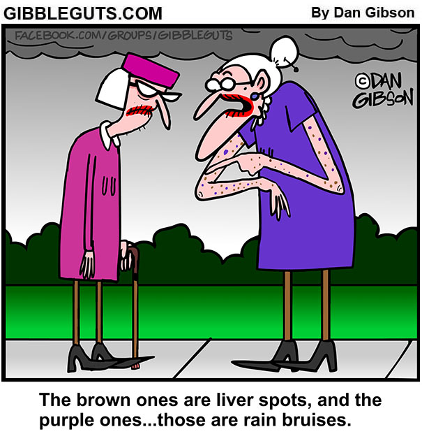 aging  Skin cartoon