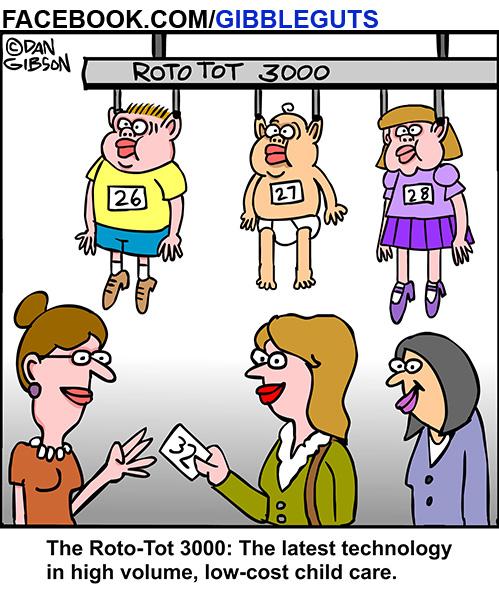 Childcare cartoon