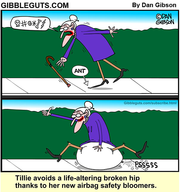 broken hip prevention cartoon