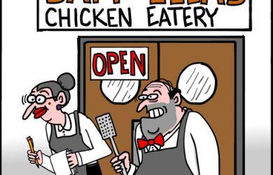 diner cartoon