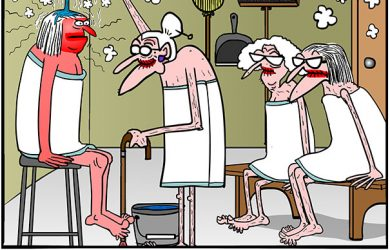 menopause cartoon