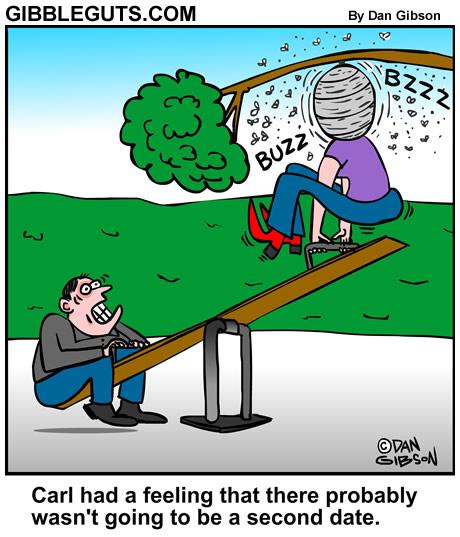 Dating cartoon from Gibbleguts.com