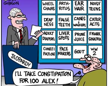 seniors jeopardy cartoon