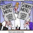 seniors menu