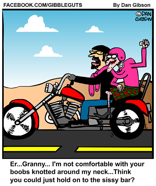 biker granny