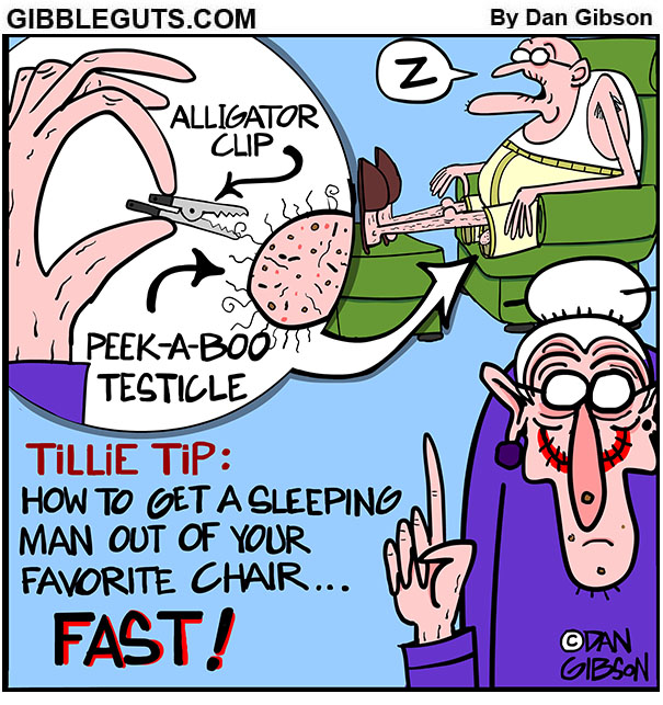 tillie tip cartoon