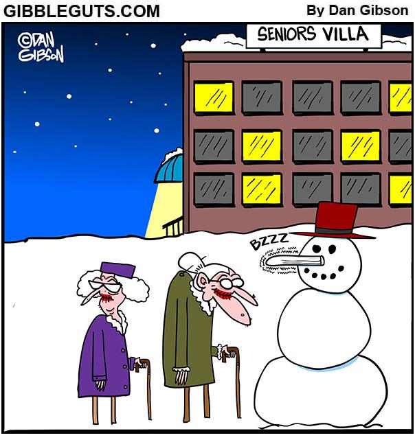 snowman nose